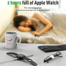 KEYSION Magnetic Wireless Charging Dock for Apple Watch -  KS-CLWXC - Black - 7