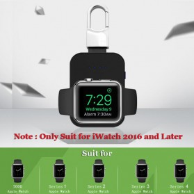 Auswaur Powerbank Wireless Charging Dock 950mAh for Apple Watch - N19 - Black - 4