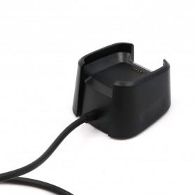 OOTDTY USB Charging Dock for Fitbit Versa Smartwatch - LP191 - Black - 4