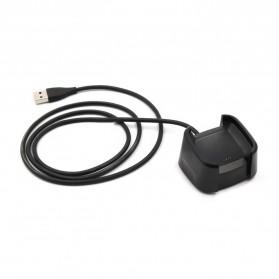 OOTDTY USB Charging Dock for Fitbit Versa Smartwatch - LP191 - Black - 5