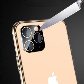 FUNY Lens Circle Camera Protective Film  For iPhone 11 Pro / 11 Pro Max - Black - 4