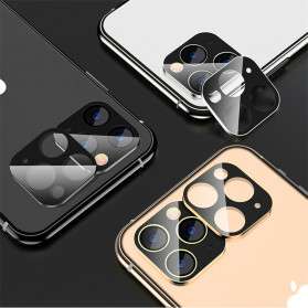 FUNY Lens Circle Camera Protective Film  For iPhone 11 Pro / 11 Pro Max - Black - 5