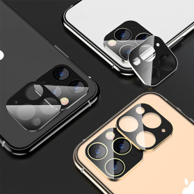 FUNY Lens Circle Camera Protective Film  For iPhone 11 - Black - 2