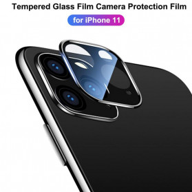 FUNY Lens Circle Camera Protective Film  For iPhone 11 - Black - 5