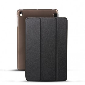 Soaptree Leather Smart Case 3 Fold for iPad Pro 9.7 Inch - YMZ3 - Black