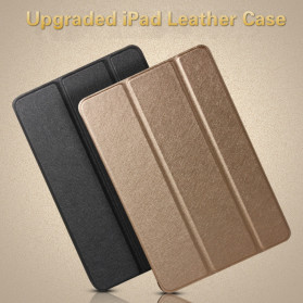 Soaptree Leather Smart Case 3 Fold for iPad Pro 9.7 Inch - YMZ3 - Black - 4