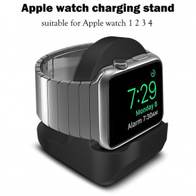 OBSHI Apple Watch Wireless Charging Dock Stand - V6 - Black
