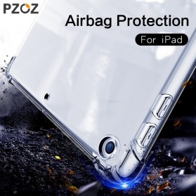 PZOZ Casing Cover Shockproof Protective Case for iPad Pro 12.9 Inch - YMZ5 - Transparent - 4