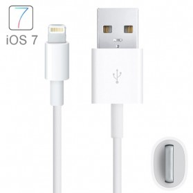 NOOSY Apple Lightning to USB Cable iOS 10 Compatible - LC01 - White