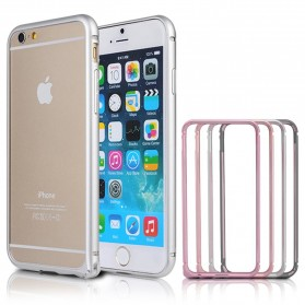 NOOSY Metal Aluminium Bumper Case for iPhone 6 - MF03-6 - Pink