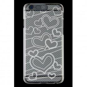 NOOSY Light Up Case Flashing LED for iPhone 6 - Model Love - Transparent