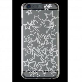 NOOSY Light Up Case Flashing LED for iPhone 6 - Model Star - Transparent