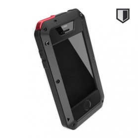 Lunatik Taktik Extreme Hardcase with Gorilla Glass for iPhone 4/4s - Black