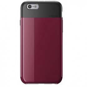Lunatik Flak Dual Layer Jacket Softcase for iPhone 6 - Dark Raspberry - 1