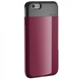 Lunatik Flak Dual Layer Jacket Softcase for iPhone 6 - Dark Raspberry - 3