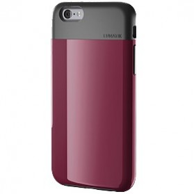 Lunatik Flak Dual Layer Jacket Softcase for iPhone 6 - Dark Raspberry - 4