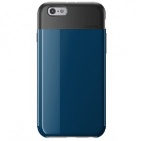 Lunatik Flak Dual Layer Jacket Softcase for iPhone 6 - Dark Blue