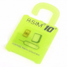 R-SIM 10+ Easy Unlocking and Activation SIM for iPhone 5/5c/5s/6/6 Plus iOS7 X-9 - Green