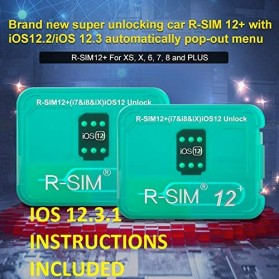 R-SIM 12+ Easy Unlocking and Activation SIM for iPhone