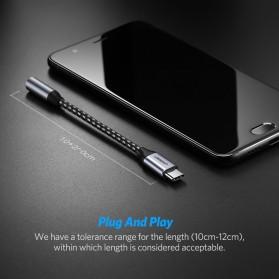 UGREEN Kabel Adapter USB Type C to 3.5mm AUX Audio - AV142 - Gray - 7
