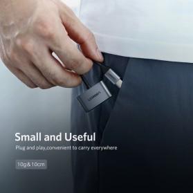 UGREEN Adapter USB Type C to AUX 3.5mm Headphone + USB Type C - 50596 - Black - 6
