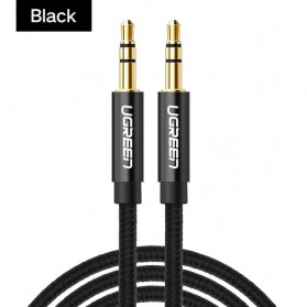 UGREEN Kabel Audio AUX 3.5mm 1 Meter - AV112 - Black