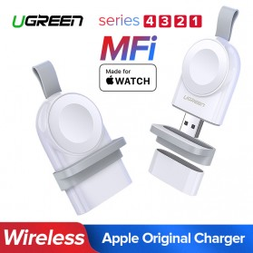 UGREEN USB Apple Watch Magnetic Charging Dock MFi - CD144 - White