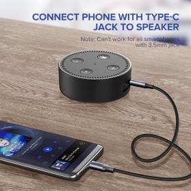 UGREEN Kabel USB Type C ke AUX 3.5mm HiFi 1 Meter - AV143 - Gray - 2