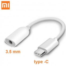 Xiaomi Kabel Adapter USB Type C to 3.5mm AUX Audio - AV150 - White