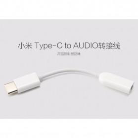 Xiaomi Kabel Adapter USB Type C to 3.5mm AUX Audio - AV150 - White - 8