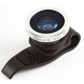 Lesung Lensa Clip Fisheye No 7  for iPhone 4/4s/5/5s - LX-P007 - Black