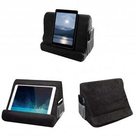 WULILLS Dudukan Holder Stand Multi-Angle Soft Sponge Pillow for iPad iPhone Macbook - YAM233 - Black - 1