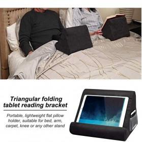 WULILLS Dudukan Holder Stand Multi-Angle Soft Sponge Pillow for iPad iPhone Macbook - YAM233 - Black - 5