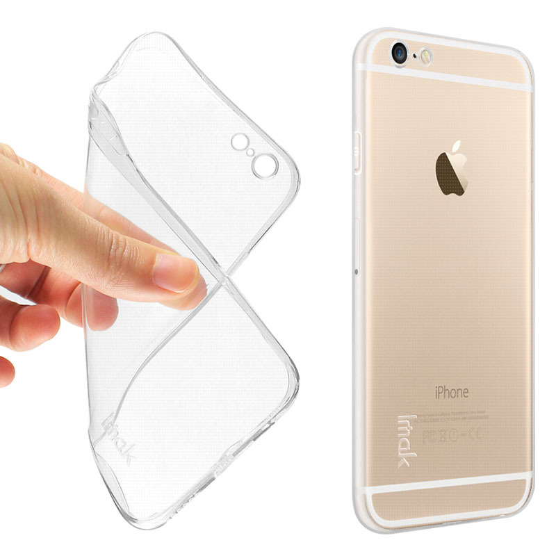 los angeles 75318 81f16 Imak Ultra Thin TPU Case for Apple iPhone 6 - Transparent