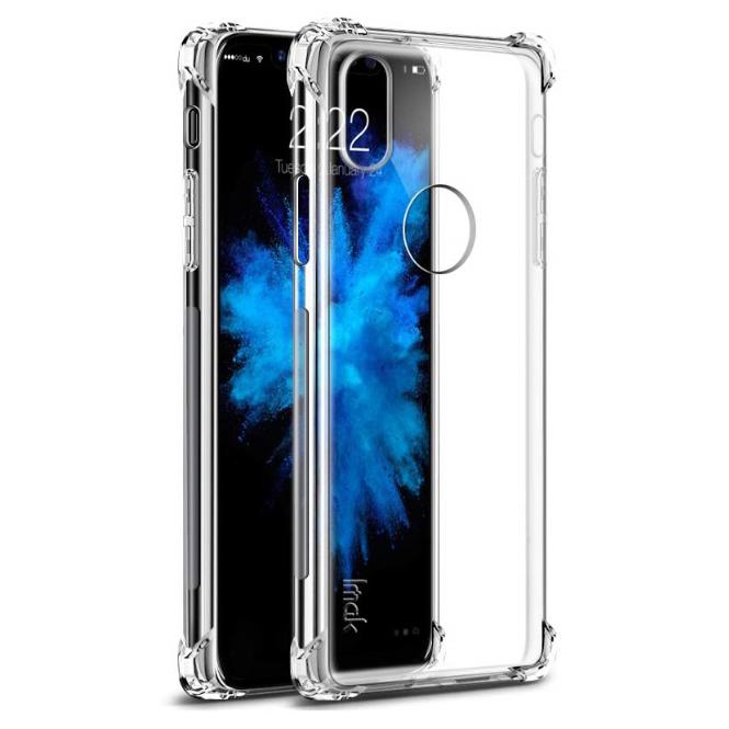 Imak Anti Crack Tpu Silicone Softcase For Iphone X Transparent