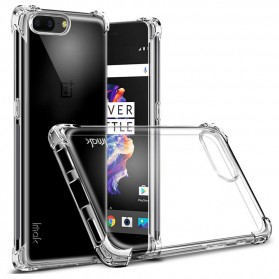 Imak Anti Crack TPU Silicone Softcase for OnePlus 5 - Transparent