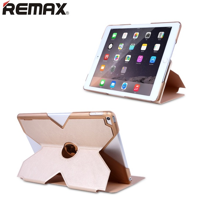 Remax X Series Leather Case for iPad Air 2 Black 2