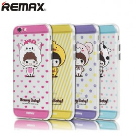 Remax Honey Series TPU Protective Soft Case for iPhone 6/6s - Yellow