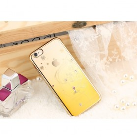 Remax Diamond Fairy Series TPU Protective Soft Case for iPhone 6s Plus - Golden - 2