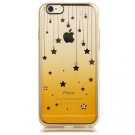 Remax Diamond Star Series TPU Protective Soft Case for iPhone 6s Plus - Golden - 1