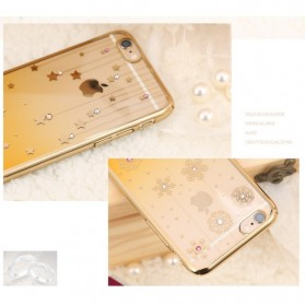Remax Diamond Star Series TPU Protective Soft Case for iPhone 6s Plus - Golden - 2