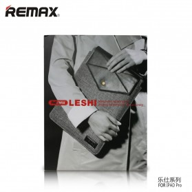 Remax Happy Leshi Series Storage Bag for iPad Pro 12.9 Inch - Pink - 4