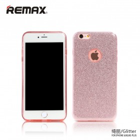 Remax Glitter Series Case for iPhone 6s Plus - Rose Gold