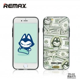 Remax Cat Cartoon Protective Hard Case for iPhone 6/6s - Model 1