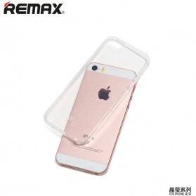 Remax Crystal Series TPU Protective Soft Case for iPhone 5/5s/SE - Transparent