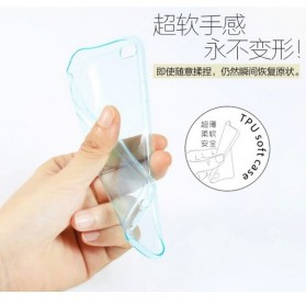 Remax Crystal Series TPU Protective Soft Case for iPhone 5/5s/SE - Transparent - 2