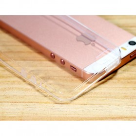 Remax Crystal Series TPU Protective Soft Case for iPhone 5/5s/SE - Transparent - 6