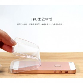 Remax Crystal Series TPU Protective Soft Case for iPhone 5/5s/SE - Transparent - 7