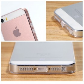 Remax Crystal Series TPU Protective Soft Case for iPhone 5/5s/SE - Transparent - 8