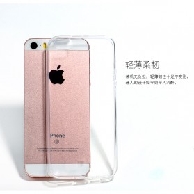 Remax Crystal Series TPU Protective Soft Case for iPhone 5/5s/SE - Transparent - 9